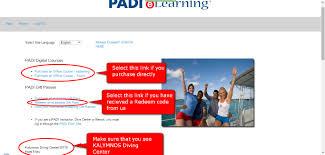 free padi elearning kalymnos diving center