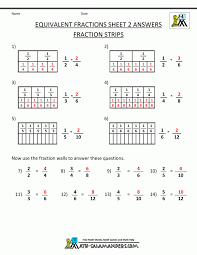 Compare Numbers Worksheet Outstanding Equivalent Fractions Worksheet Comparing 3rd Grade