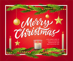 merry christmas modern merry christmas modern vector realistic illustration with