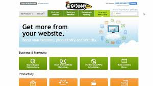 build a godaddy online store youtube