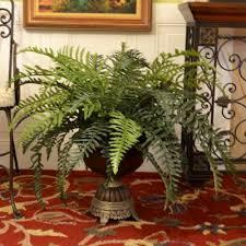 floor plants home decor river fern silk floor plant in decorative vase gr169 floral home