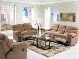 Microfiber Reclining Sofa Sets Harmon Dual Reclining Sofa In Mocha Brown Microfiber By Coaster