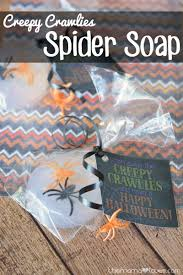 creepy crawlies spider soap non candy halloween treat this mama