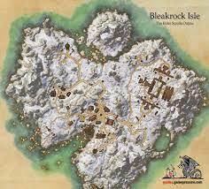 Deshaan Treasure Map 3 Bleakrock Isle Tamriel Rebuilt