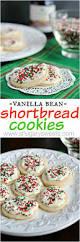 vanilla bean shortbread cookies shugary sweets