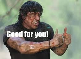Good For You Meme - good for you stallone know your meme