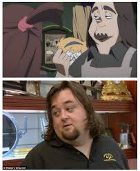 Chumlee Meme - is that you chum little witch academia know your meme
