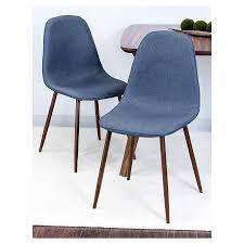 Target Dining Chair Porter Mid Century Modern Dining Chair Indigo Blue Set Of 2