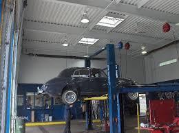 mezzanine floor addition in auto repair shop project simh1 104