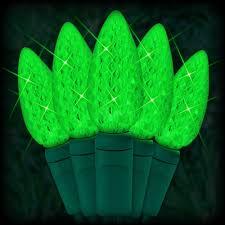 christmas lights net style led green christmas lights 35 c6 led strawberry style bulbs 4