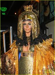 party city halloween 2012 heidi klum bedazzled cleopatra at haunted holiday party photo