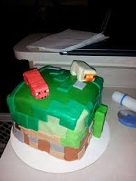 minecraft cake for tate my cakes pinterest minecraft cake