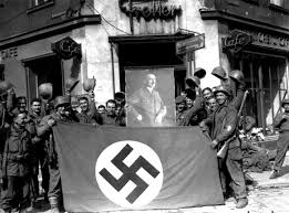 German War Flag Saarbrücken Saarland Germany 22 March 1945 Ww2 1945 9