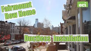 ductless heating u0026 cooling installation in fairmount philadelphia