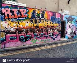 wall mural painting on grimsby street near brick lane east end stock photo wall mural painting on grimsby street near brick lane east end london e2 england uk kathy dewitt