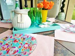 lilly pulitzer inspired plate be my guest with denise