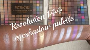 Freedom Collection Subscribe Revolution 144 Eyeshadow Palette Collection 2017 Thoughts And