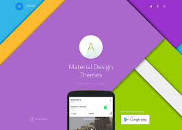 Material Design 20 Best Wordpress Material Design Themes 2017 Colorlib