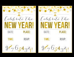 free new year u0027s party printables catch my party