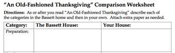 an fashioned thanksgiving louisa may alcott fashioned thanksgiving by louisa may alcott lesson and