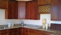 Cherry Glaze Cabinets Buy Recessed Cherry Glaze Discount Rta Kitchen Cabinets Wall