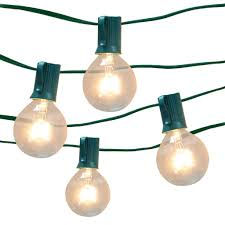 Glass Float String Lights by Clear Globe String Light Set By Ashland 16ct