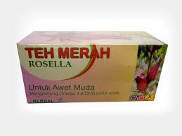 Teh Merah teh merah rosella rp 55 rb