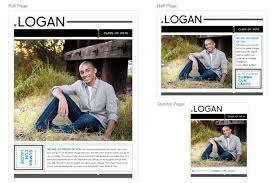 senior yearbook ad templates yearbook ad templates for professional photographers design aglow