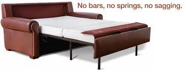 Sleeper Sofa Atlanta Reese Sleeper In Fifth Avenue Cognac Leather With Optional