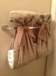 Impressive Best 25 Bathroom Towel Display Ideas Pinterest