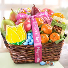 mothers day basket mothers day fruit and treats basket aa4050m a gift inside