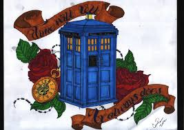 doctor who tattoo by cassandra annastacia on deviantart