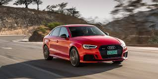 audi car a3 2018 audi a3 s3 rs3 vehicles on display chicago auto