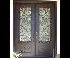 custom iron door company ornamental iron door designs front