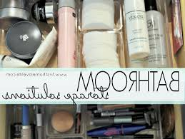 Bathroom Storage Solutions by Bathroom Budget Makeup Organization How To Organize Your
