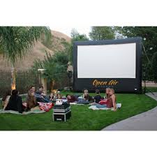 Backyard Theater Ideas Camp Chef Inch Portable Outdoor Movie Theater Photo With Awesome