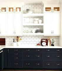Two Tone Kitchen Cabinet Doors Two Toned Kitchen Cabinet Painted Kitchen Cabinets Two Colors