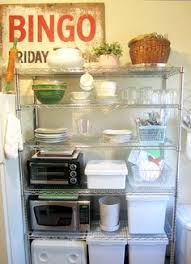 Extra Kitchen Storage Ideas Extra Organizing When Your Pantry Is Too Small Home Pinterest