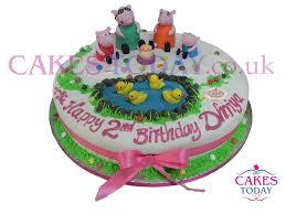peppa pig cake peppa pig cake c340 novelty cakes cakes today