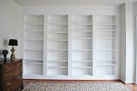 Billy Bookcases With Doors How To Build Diy Built In Bookcases From Ikea Billy Bookshelves