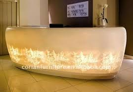 Illuminated Reception Desk Amazing Led Water Bar Counter Front Desk Counter Buy