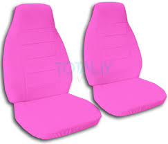 pink jeep 2 door solid color car seat covers front semi custom black gray brown