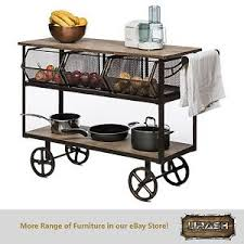 Shelves On Wheels by Details About Kitchen Trolley Island Bench Storage Organiser