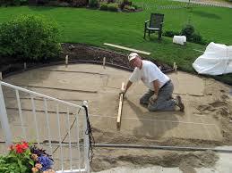this grandmother u0027s garden diy flagstone patio preparing the