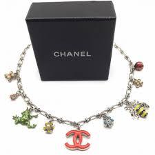 vintage charm bracelet necklace images Chanel necklace garden vintage jewellery jennifer gibson jewellery jpg