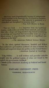city politics edward c banfield 9780674132504 amazon com books