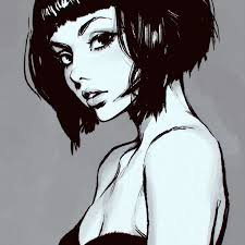 drawing of bob hair best 25 girl sketch ideas on pinterest girl drawing sketches