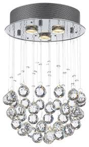Crystal Drops For Chandeliers Raindrop Ceiling Lamp Contemporary Chandeliers By Gspn