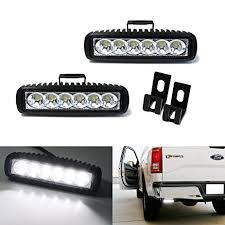 led backup light bar amazon com ijdmtoy 2 18w high power led backup reverse light bars