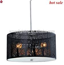 Stainless Steel Pendant Light Stainless Steel Pendant Light In Laser Cut Lampshade Two Tiers And